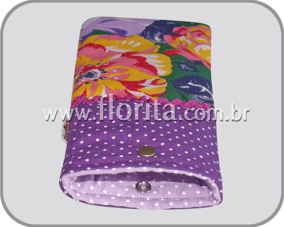 Porta culos patchwork florita for Porta oculos